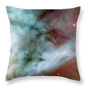 Carina Nebula #4 Throw Pillow