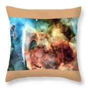 Carina Nebula - Deep Space Throw Pillow