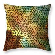 Carina Nebula Mosaic  Throw Pillow