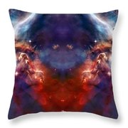 Carina Nebula Pillar 2 Throw Pillow