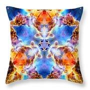 Carina Nebula Vi Throw Pillow