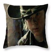 Carl Grimes  Throw Pillow
