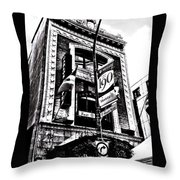 Carlos And Pepe's Montreal Mexican Bar Bw Throw Pillow
