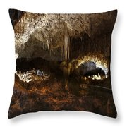 Carlsbad Caverns #3 Throw Pillow