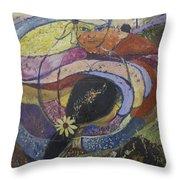 Carlsbad Flower Fields #2 Throw Pillow