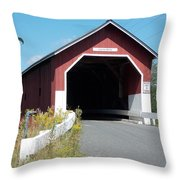 Carlton Bridge Throw Pillow