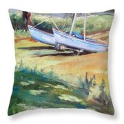 Carlyle Catamaran Throw Pillow