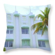 Carlyle Hotel Throw Pillow