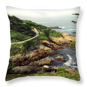 Carmel Highlands Throw Pillow