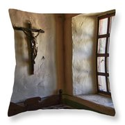 Carmel Mission 4 Throw Pillow