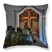 Carmel Mission 5 Throw Pillow