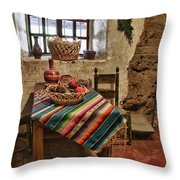 Carmel Mission 7 Throw Pillow