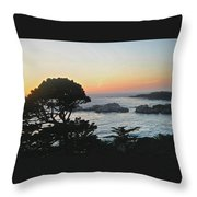 Carmel's Scenic Beauty Throw Pillow