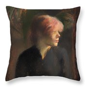 Carmen Guadin Throw Pillow
