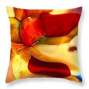 Carmen II Throw Pillow