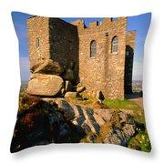 Carn Brea Castle Throw Pillow