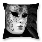 Carnavale - Venice Throw Pillow