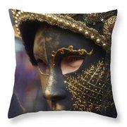 Carnevale Di Venezia 102 Throw Pillow