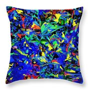 Carnival 2015  Throw Pillow