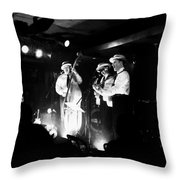 Carnival Des Corbeaux Throw Pillow