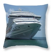 Carnival Freedom Bow Throw Pillow