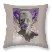 Carnival Of Robotic Dionysus Throw Pillow