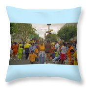 Carnival Outdoor Celebrations Social Occasion  Throw Pillow