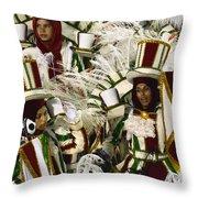 Carnival Rio De Janeiro 15 Throw Pillow