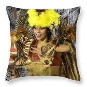 Samba Beauty 2 Throw Pillow