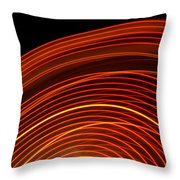 Carnival Trails II Throw Pillow
