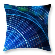 Carnival Trails Throw Pillow