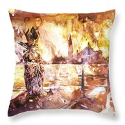 Carnivale- Italy Throw Pillow