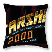 Carny Night 4 Throw Pillow