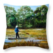 Carolina Cove Throw Pillow