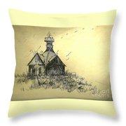 Carolina Farm House Throw Pillow