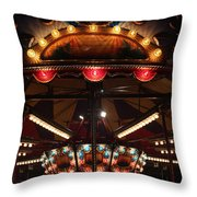 Carousel 3 Throw Pillow