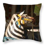 Carousel Imagination Throw Pillow