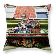 Carousel Shoppe Throw Pillow