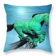 Carousel V Throw Pillow