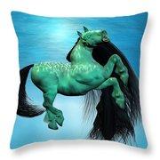 Carousel Viii Throw Pillow