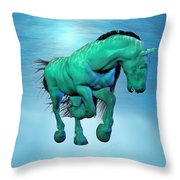 Carousel Xii Throw Pillow