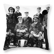 Carpathia Crew, 1912 Throw Pillow