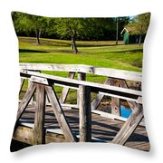 Carpenters Park 2 Throw Pillow