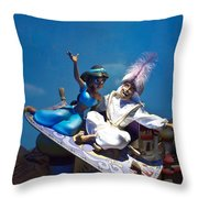 Carpet Ride Throw Pillow by Ryan Crane