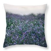 Carpinteria California Wildflowers Throw Pillow