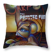 Carpo In The Painted Fin Throw Pillow