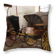 Carriage - Chateau Usse Throw Pillow