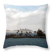 Carribean Dream Throw Pillow