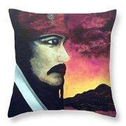 Carribean Night Throw Pillow