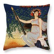Carry The Ideal Waterman Pen - Throw Pillow